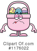 Easter Basket Clipart #1176022 by Cory Thoman