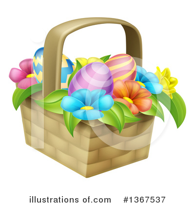 Easter Egg Clipart #1367537 by AtStockIllustration
