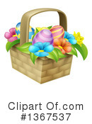 Easter Basket Clipart #1367537