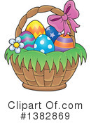 Easter Basket Clipart #1382869