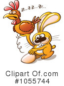 Easter Bunny Clipart #1055744 by Zooco