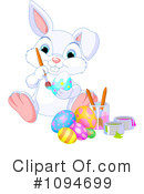 Easter Bunny Clipart #1094699 by Pushkin
