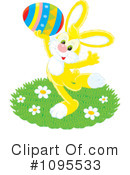 Easter Bunny Clipart #1095533 by Alex Bannykh