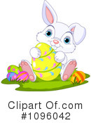 Easter Bunny Clipart #1096042 by Pushkin