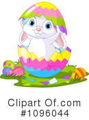 Easter Bunny Clipart #1096044 by Pushkin