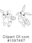 Easter Bunny Clipart #1097497