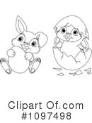 Easter Bunny Clipart #1097498
