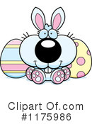 Royalty-Free (RF) Easter Bunny Clipart Illustration #1175986