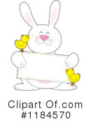 Royalty-Free (RF) Easter Bunny Clipart Illustration #1184570