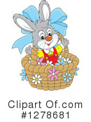 Easter Bunny Clipart #1278681 by Alex Bannykh