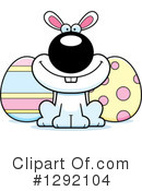 Easter Bunny Clipart #1292104 by Cory Thoman