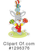 Easter Bunny Clipart #1296376 by Alex Bannykh
