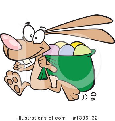 Rabbit Clipart #1306132 by toonaday