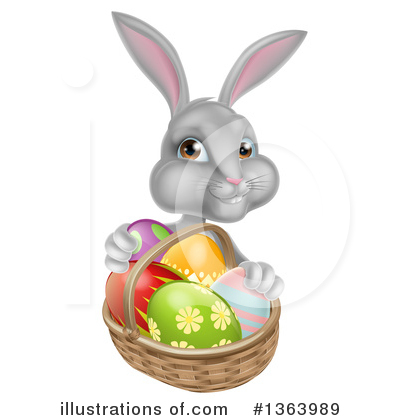 Easter Egg Clipart #1363989 by AtStockIllustration