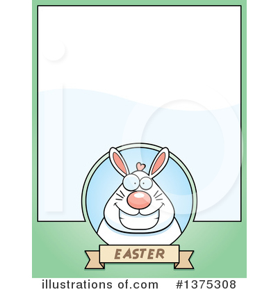 Royalty-Free (RF) Easter Bunny Clipart Illustration by Cory Thoman - Stock Sample #1375308