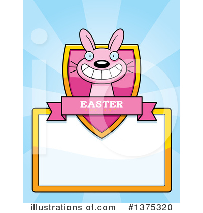 Easter Bunny Clipart #1375320 by Cory Thoman