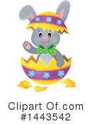 Easter Bunny Clipart #1443542 by visekart