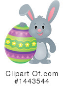 Easter Bunny Clipart #1443544 by visekart