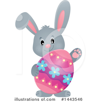 Rabbit Clipart #1443546 by visekart