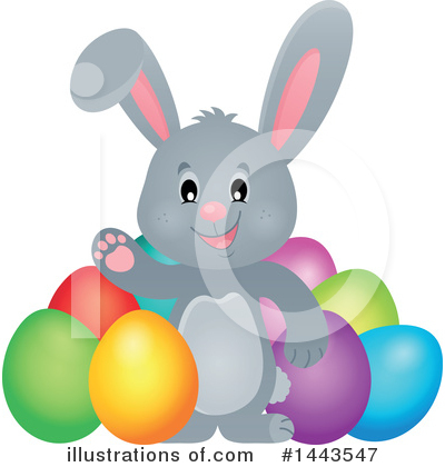 Rabbit Clipart #1443547 by visekart