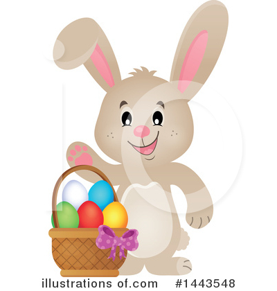 Rabbit Clipart #1443548 by visekart