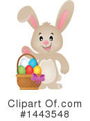 Royalty-Free (RF) Easter Bunny Clipart Illustration #1443548