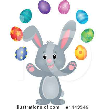 Rabbit Clipart #1443549 by visekart