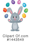 Royalty-Free (RF) Easter Bunny Clipart Illustration #1443549