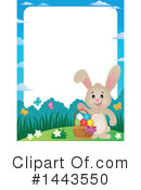 Easter Bunny Clipart #1443550 by visekart