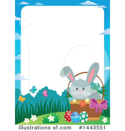 Easter Bunny Clipart #1443551 by visekart