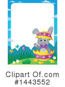 Easter Bunny Clipart #1443552 by visekart