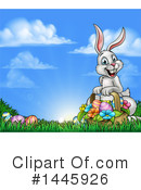 Easter Bunny Clipart #1445926 by AtStockIllustration