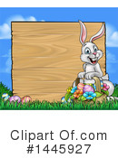Easter Bunny Clipart #1445927 by AtStockIllustration