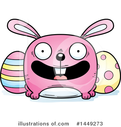 Easter Bunny Clipart #1449273 by Cory Thoman