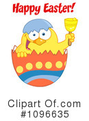 Royalty-Free (RF) easter chick Clipart Illustration #1096635