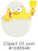 Royalty-Free (RF) easter chick Clipart Illustration #1096648