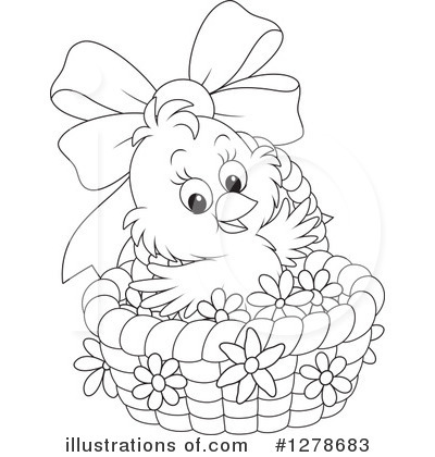 easter chick clipart 1278683 illustration by alex bannykh rh illustrationsof com easter chick clipart free cute easter chick clipart