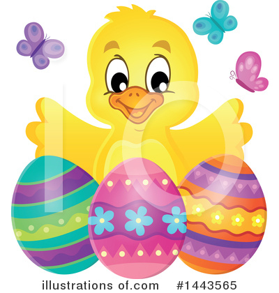 Easter Clipart #1443565 by visekart