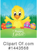 Easter Chick Clipart #1443568 by visekart