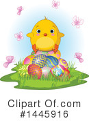 Royalty-Free (RF) Easter Chick Clipart Illustration #1445916