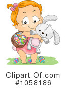 Royalty-Free (RF) Easter Clipart Illustration #1058186