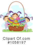 Royalty-Free (RF) Easter Clipart Illustration #1058197