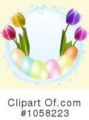 Royalty-Free (RF) Easter Clipart Illustration #1058223