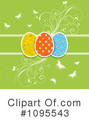 Royalty-Free (RF) Easter Clipart Illustration #1095543