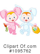Royalty-Free (RF) Easter Clipart Illustration #1095762