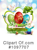 Royalty-Free (RF) Easter Clipart Illustration #1097707