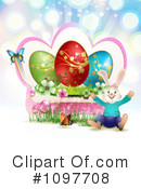 Royalty-Free (RF) Easter Clipart Illustration #1097708