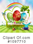Royalty-Free (RF) Easter Clipart Illustration #1097710