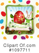 Royalty-Free (RF) Easter Clipart Illustration #1097711