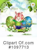 Royalty-Free (RF) Easter Clipart Illustration #1097713